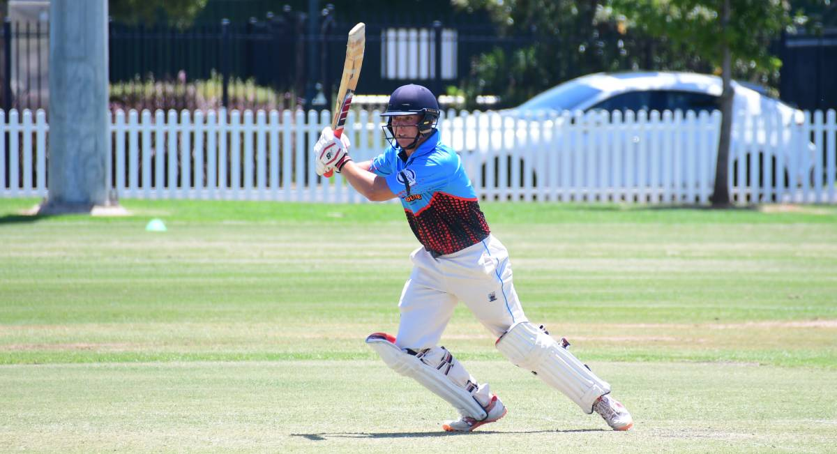 ON FIRE: Rugby batsman Ben Wheeler's 100 against RSL Colts was one of the best performances from season. Photo: AMY MCINTYRE