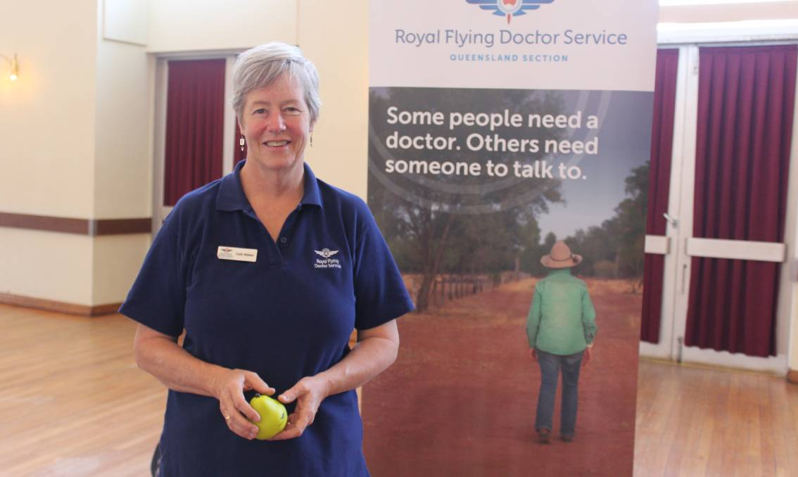 PRIORITISE WELLBEING: The Royal Flying Doctor Service's Cath Walker, a psychologist with the Outback Mental Health Team.