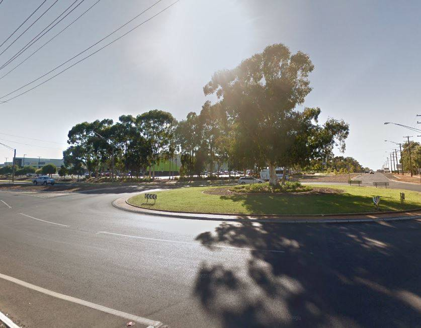 WORKS: Work on the Mitchell Highway and Wheelers Lane roundabout will begin on Sunday. Image: GOOGLE MAPS