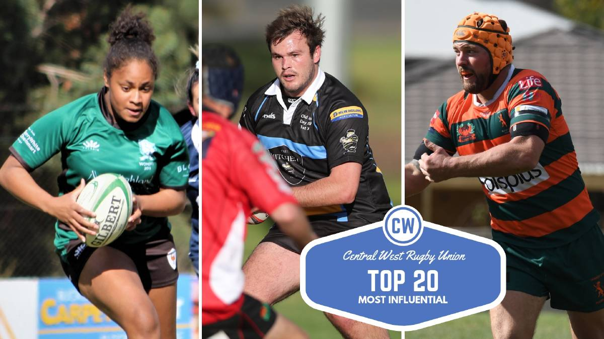 Who has been Central West Rugby Union's most influential player of 2019? | Photos