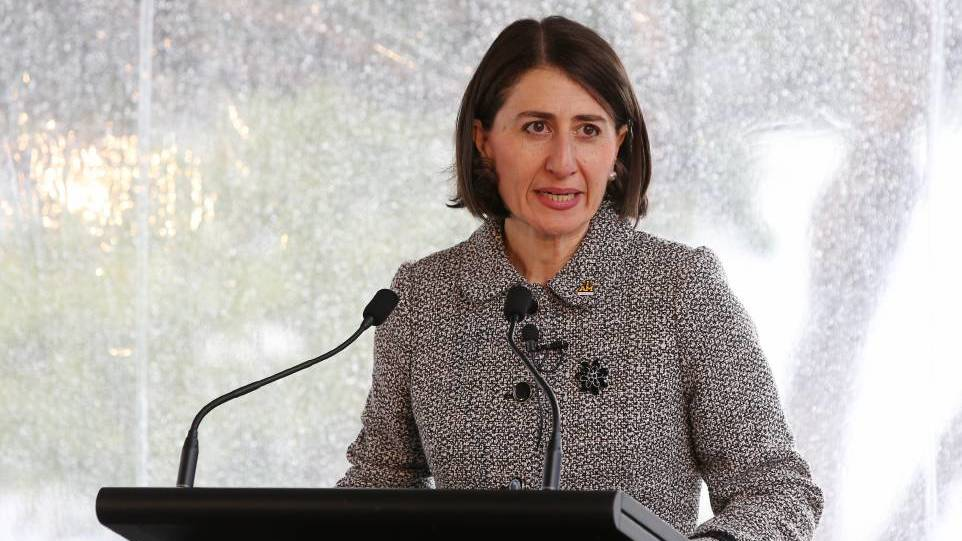 Premier Gladys Berejiklian. Photo: FILE