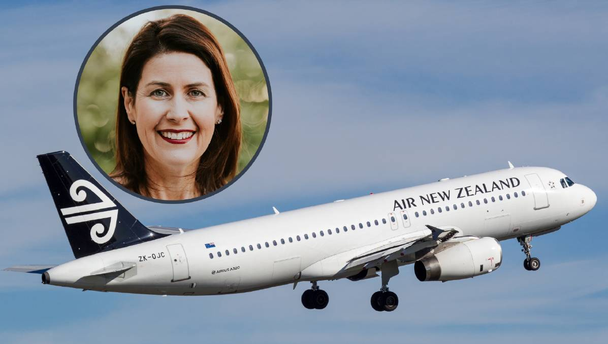 Take-off: Travel agent Sonya Hogan (inset) hopes New Zealand opening up again will be the start of better times. Main photo: Shutterstock