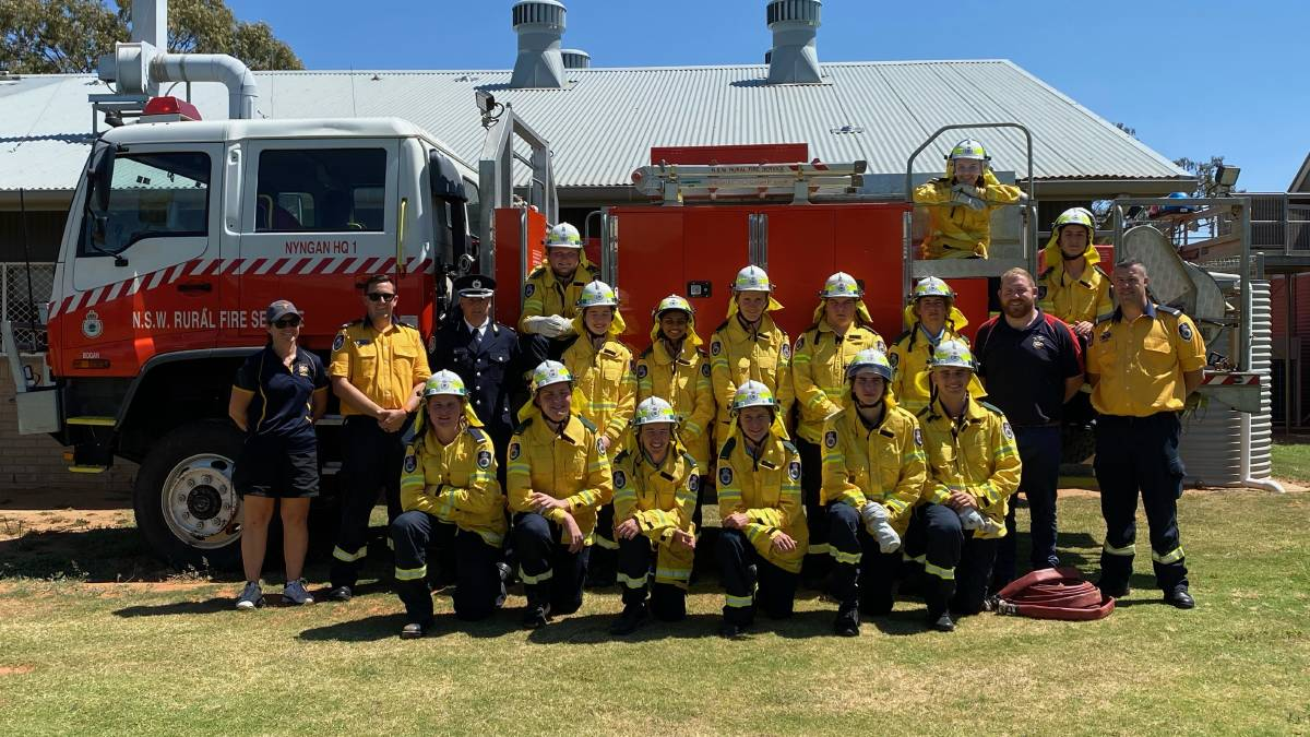 High school students become latest crop of fire-fighting cadets