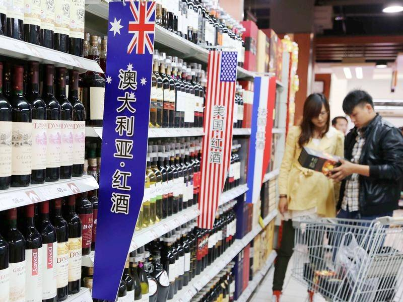 China accuses Australian exporters of dumping wine into its market.