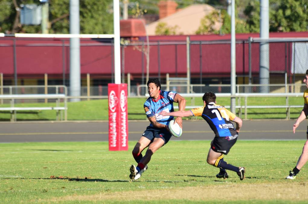 Moa Karivaeta made a try-scoring return last week and will be important for the Roos again tomorrow against the Forbes Platypi. 								        Photo: CHERYL BURKE