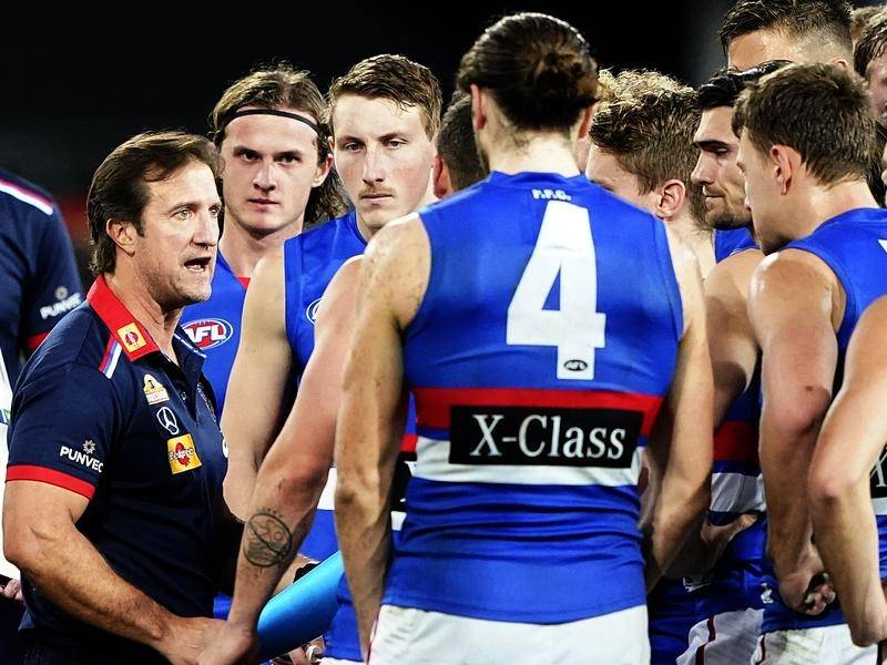 Bulldogs coach Luke Beveridge says the club will offer more support to Lachie Hunter this year.