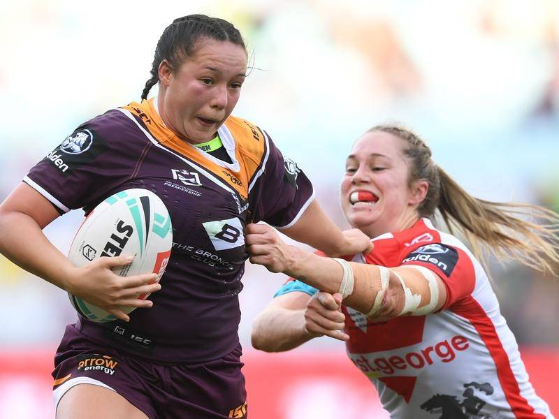 The NRLW is tipped to be played through the NRL's final series in 2020.