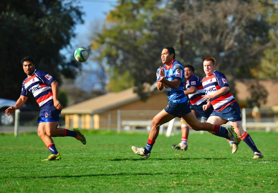 Moa Kavaefiafi scored 11 points for Dubbo Kangaroos in their win over Mudgee on Saturday.