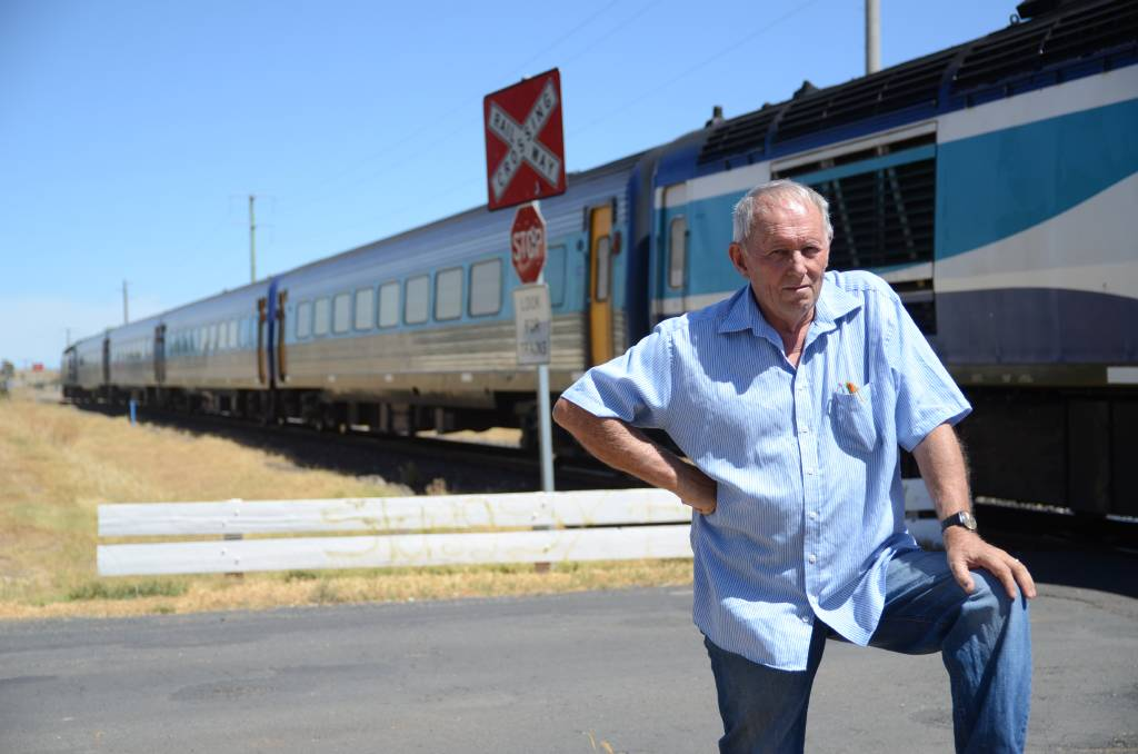 CONCERNS: Wellington resident Don Mahoney was a string advocate for the crossing to be closed after seeing too many near misses. Photo: FILE